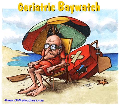 Veranobr21 Jun - 20 Sep Mayor Vigilante de la Playa esperando la nueva edad de jubilacin